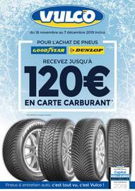 Catalogue Vulco en cours, Recevez jusqu'à 120€ en carte carburant, Page 1