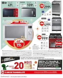 Catalogue Conforama en cours, Noël est plus Beau à petits prix, Page 16