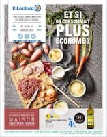 Catalogue E.Leclerc en cours, Et si on consommait plus économe ?, Page 1