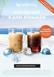 Aktueller Nespresso Boutique Prospekt, Der Sommer kann kommen, Seite 1