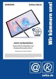 Aktueller aetka Prospekt, Wir kümmern uns! Galaxy Tab S6, Seite 1
