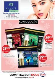 Catalogue Cora en cours, La parapharmacie par Cora, Page 1