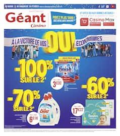 Catalogue Géant Casino en cours, À la victoire de vos économies, Page 1