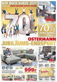 Aktueller Ostermann Prospekt, JUBILÄUMS-ENDSPURT, Seite 1