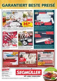 Aktueller Segmüller Prospekt, Segmüller - Sicherheit beim Möbelkauf, Seite 12
