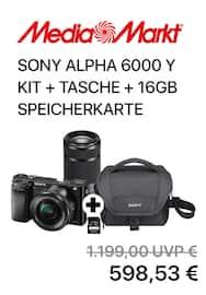 Aktueller MediaMarkt Prospekt, SONY Alpha Kit, Seite 1