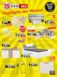 Aktueller XXXLutz Möbelhäuser Prospekt, Bei uns mit Click & Collect: 10.000e Artikel sofort verfügbar!, Seite 44