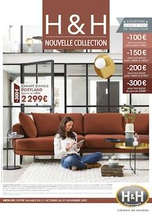 """H&H Catalogue """"Nouvelle Collection"""", 12 pages, Montluçon,  10/10/2021 - 21/11/2021"""