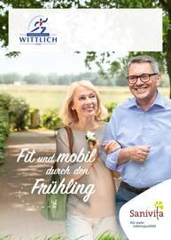 Aktueller Sanitätshaus Wittlich Prospekt, Fit und mobil durch den Frühling, Seite 1