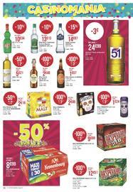 Catalogue Géant Casino en cours, 6 semaines de fête et de promos !, Page 34