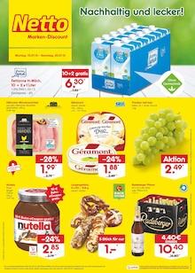 Netto Marken-Discount, NACHHALTIG UND LECKER! für Falkenstein (Harz)
