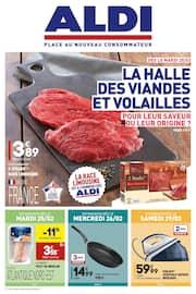 Catalogue Aldi en cours, La Halle des viandes et volailles, Page 1