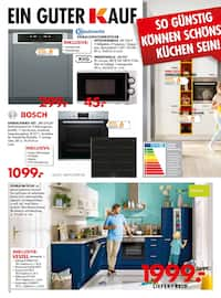 Aktueller Möbel Kraft Prospekt, So preiswert kann auch schönstes Wohnen sein!, Seite 18