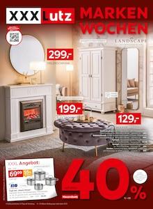 XXXLutz Möbelhäuser Prospekt für Lauda-Königshofen: MARKENWOCHEN, 56 Seiten, 17.10.2021 - 24.10.2021