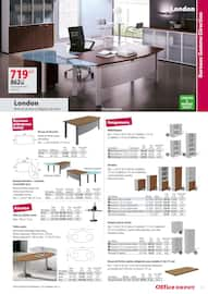 Catalogue Office DEPOT en cours, Catalogue Mobilier, tout pour votre bureau, Page 47