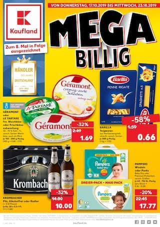 Aktueller Kaufland Prospekt, MEGA BILLIG, Seite 1