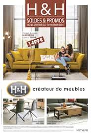 Catalogue H&H en cours, Soldes & Promos, Page 1