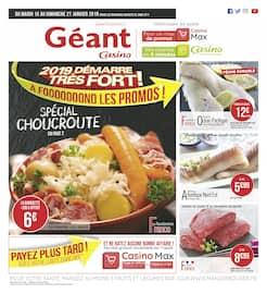 Catalogue Géant Casino en cours, 2019 démarre très fort !, Page 1