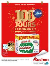Catalogue Auchan en cours, 100 jours étonnants avant 2020, Page 1