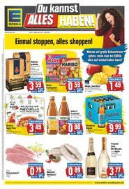 Aktueller EDEKA Prospekt, Einmal stoppen, alles shoppen!, Seite 1