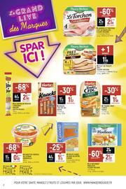 Catalogue Spar en cours, Le grand live des marques, Spar ici !, Page 2
