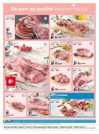 Catalogue Auchan en cours, Notre sélection porc à petits prix, Page 2