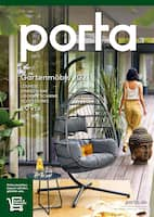 Aktueller porta Möbel Prospekt, Gartenmöbel 2021, Seite 1