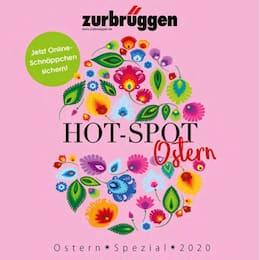Aktueller Zurbrüggen Prospekt, HOT-SPOT Ostern, Seite 1