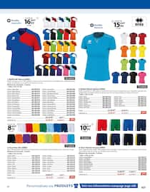 Catalogue Casal Sport en cours, Textile & Sacs, Page 11