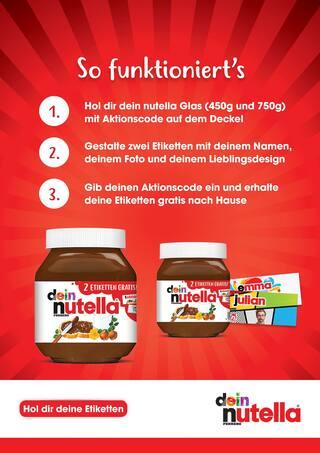 Aktueller Nutella Prospekt, Du kannst dich sehen lassen!, Seite 2
