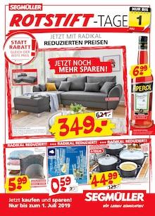 Segmüller, SEGMÜLLER: ROTSTIFT-TAGE für Fellheim