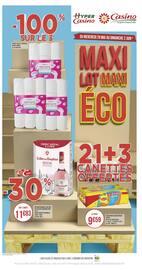Catalogue Casino Supermarchés en cours, Maxi Lot Maxi Éco, Page 1