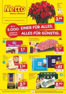 Netto Marken-Discount Prospekt EINER FÜR ALLES. ALLES FÜR GÜNSTIG.