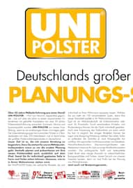 Aktueller Uni Polster Prospekt, Ihr Lieblingsplatz zentimetergenau geplant, Seite 4