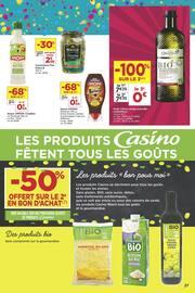 Catalogue Casino Supermarchés en cours, 6 semaines de fête et de promos !, Page 27