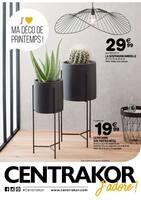 Catalogue Centrakor en cours, J'aime ma déco de printemps !, Page 1