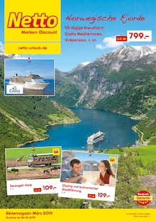 Netto Marken-Discount, REISEN … ZU NETTO-PREISEN! für Wuppertal