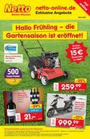 Aktueller Netto Marken-Discount Prospekt, Hallo Frühling – die Gartensaison ist eröffnet!, Seite 1