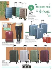 Catalogue Géant Casino en cours, Le salon du bagage, Page 7