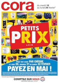 Catalogue Cora en cours, Petits prix, Page 1