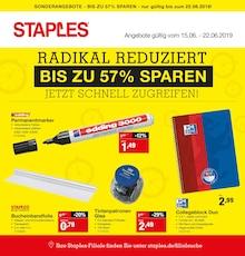 Staples, RADIKAL REDUZIERT für Frankfurt (Main)