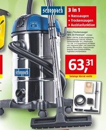 Staubsauger von scheppach im aktuellen BAUHAUS Prospekt für 63.31€