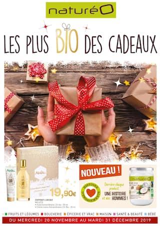 Catalogue NaturéO en cours, Le plus BIO des cadeaux, Page 1