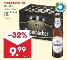 Bier von Krombacher im aktuellen Netto Marken-Discount Prospekt für 9.99€