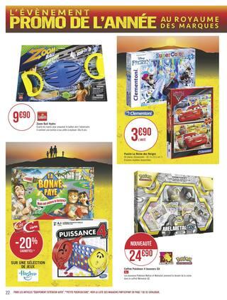 Catalogue Géant Casino en cours, L'évènement promo de l'année - Épisode 3, Page 22