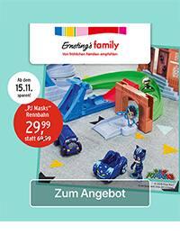 Aktueller Ernsting's family Prospekt, Rennbahn, Seite 1