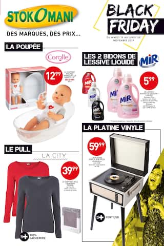 Catalogue Stokomani en cours, Black Friday, Page 1