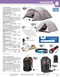 Catalogue Casal Sport en cours, Sports de plein air & de loisirs, Page 11