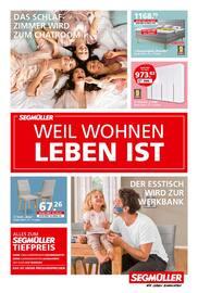 Aktueller Segmüller Prospekt, Segmüller - Weil Wohnen Leben Ist, Seite 1