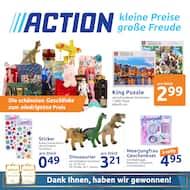 Aktueller Action Prospekt, Kleine Preise, große Freude, Seite 1